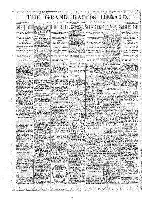 Grand Rapids Herald, Monday, January 22, 1900