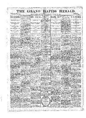Grand Rapids Herald, Saturday, January 13, 1900