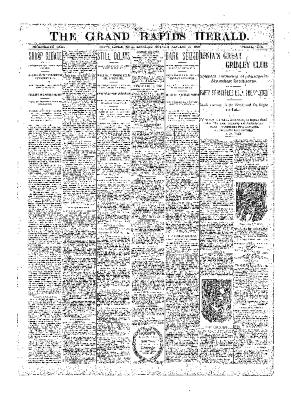 Grand Rapids Herald, Saturday, January 20, 1900