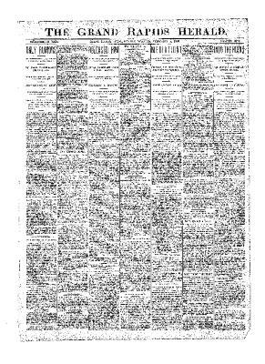 Grand Rapids Herald, Monday, February 05, 1900