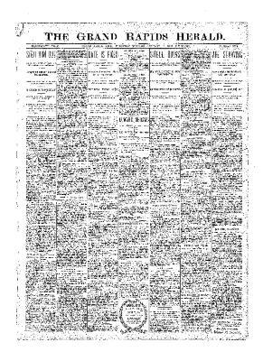 Grand Rapids Herald, Thursday, January 18, 1900