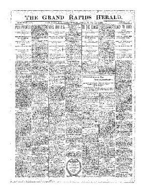 Grand Rapids Herald, Monday, January 15, 1900