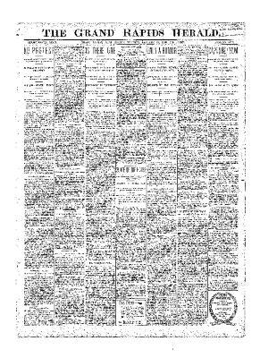 Grand Rapids Herald, Friday, January 19, 1900
