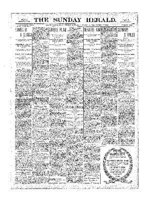 Grand Rapids Herald, Sunday, January 14, 1900