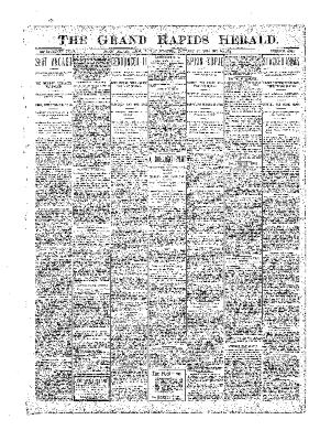 Grand Rapids Herald, Friday, January 26, 1900