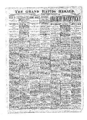 Grand Rapids Herald, Thursday, February 01, 1900