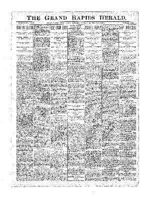 Grand Rapids Herald, Friday, January 12, 1900