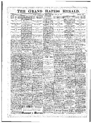 Grand Rapids Herald, Friday, April 13, 1900