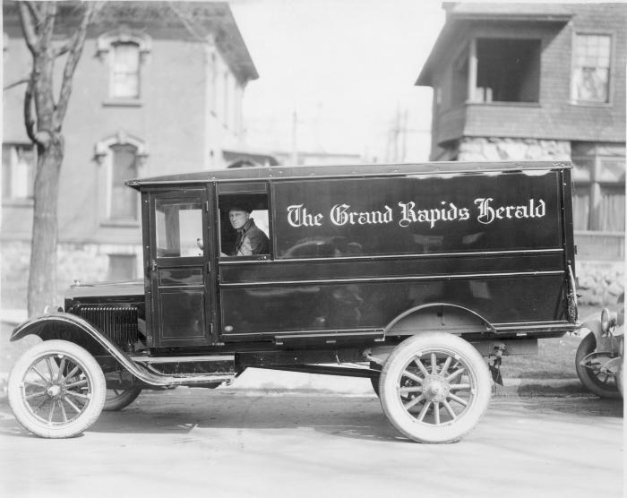 Grand Rapids Herald Truck