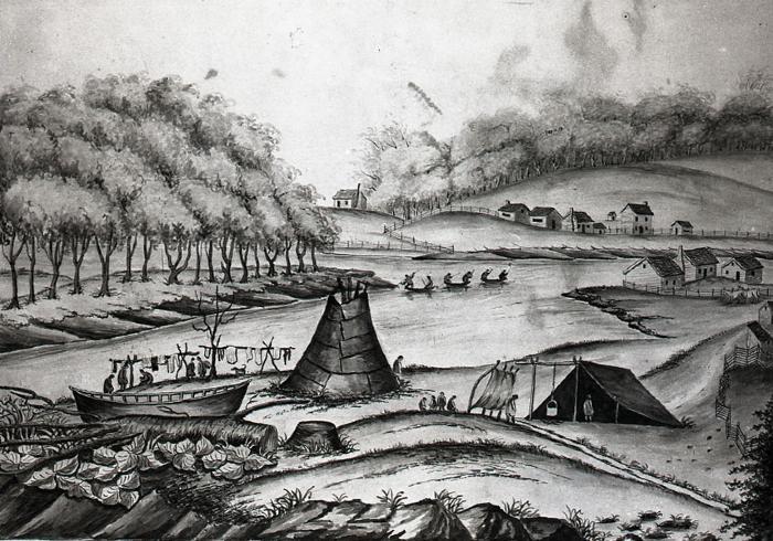 Grand Rapids in 1831
