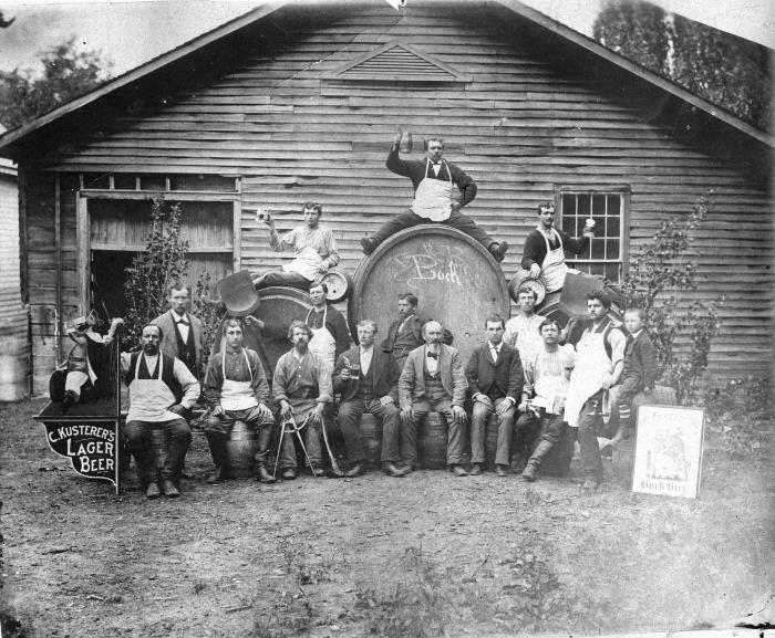 Kusterer's Lager Beer, Cooper Shop