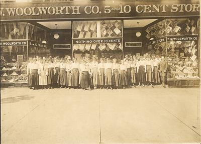 F.W. Woolworth Dime Store