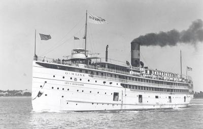 Steamship of City of Grand Rapids