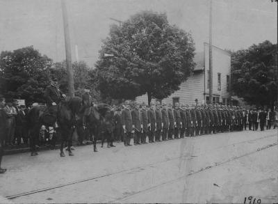 Police and Firemen's Parade