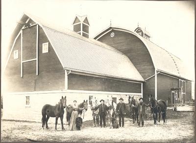 Barn, Mason County