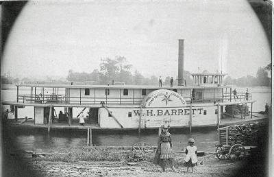 Steamboat W. H. Barrett