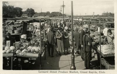 Leonard Street Produce Market