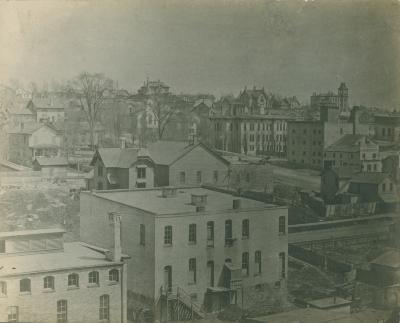 Michigan Avenue view, 1875