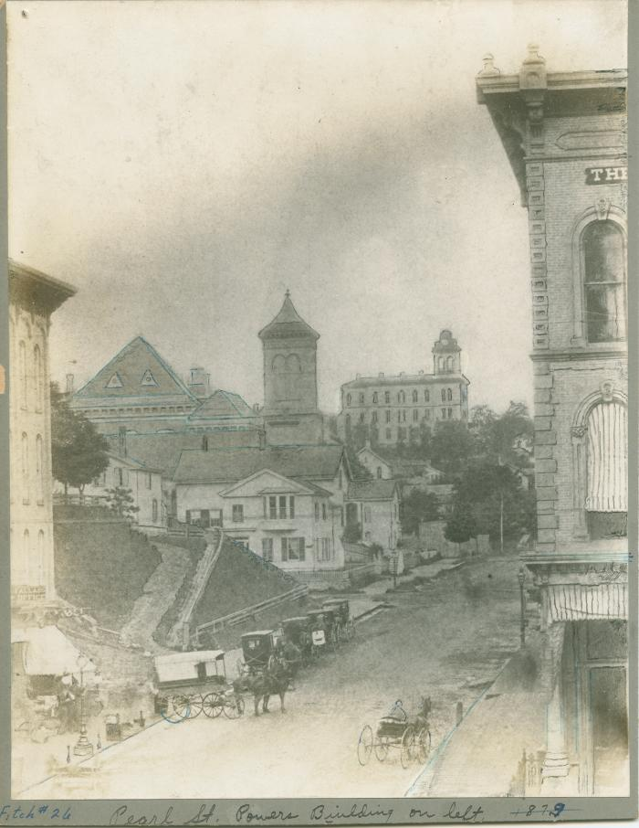 Pearl Street view, 1879