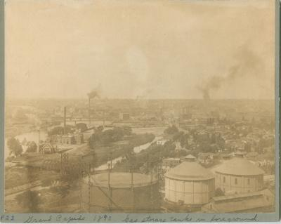 Grand Rapids view, 1890