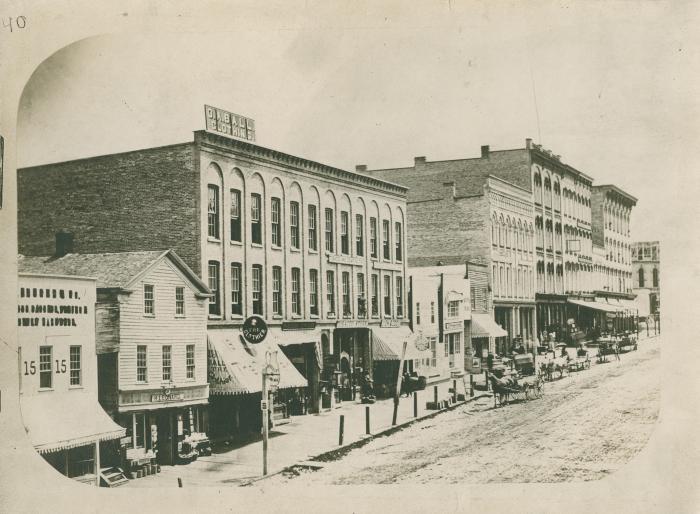 Monroe Avenue view