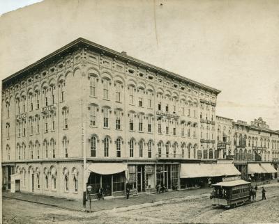 Sweet's Hotel, 1872