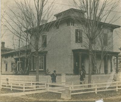 Porter house, 1865