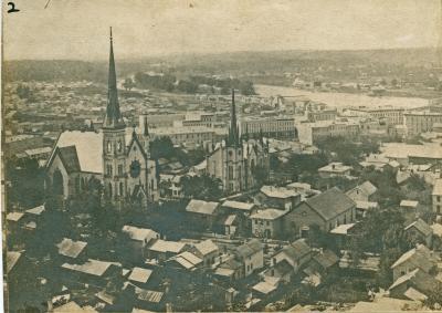 Grand Rapids view, 1873