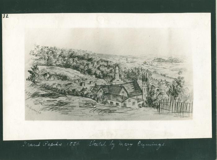 Grand Rapids, 1855