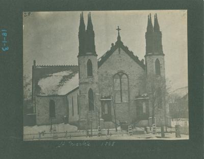 St. Mark's church, 1865