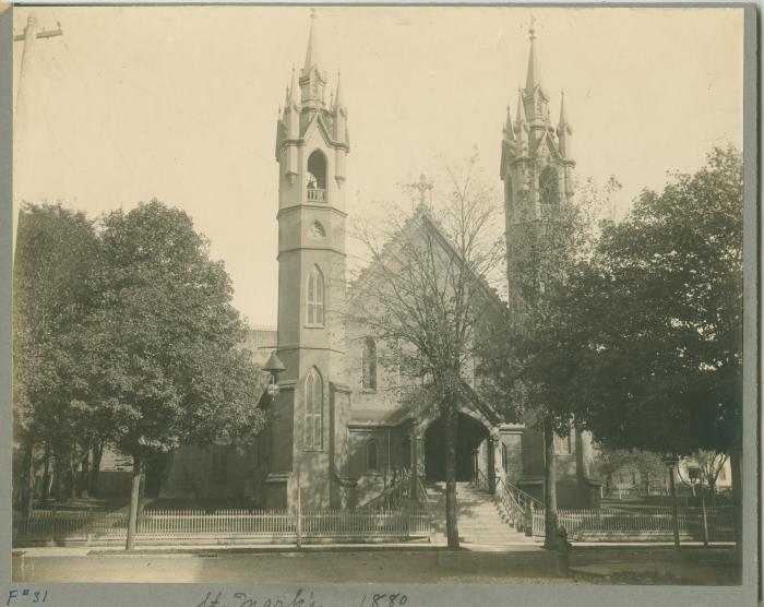 St. Mark's church, 1880