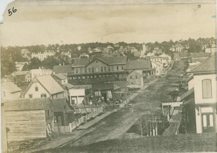 Shanty town, 1870