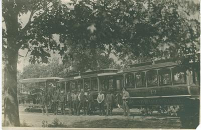 Cable cars, 1890