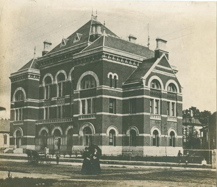 Kent County courthouse, 1890