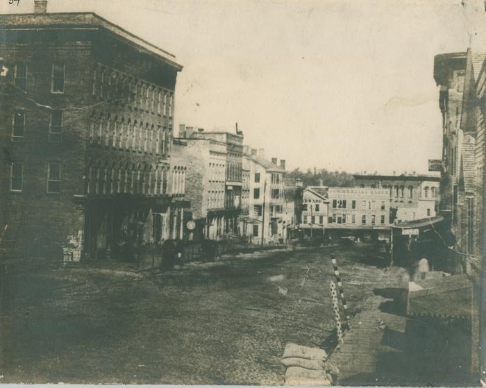 Monroe Center view