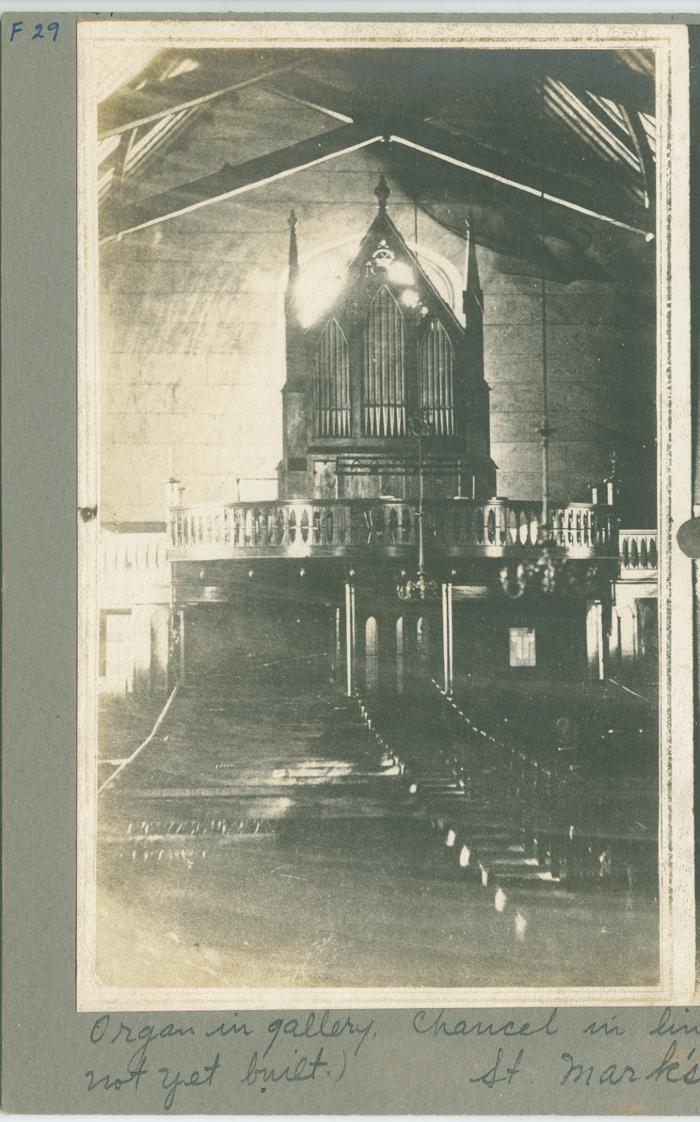 St. Mark's church organ