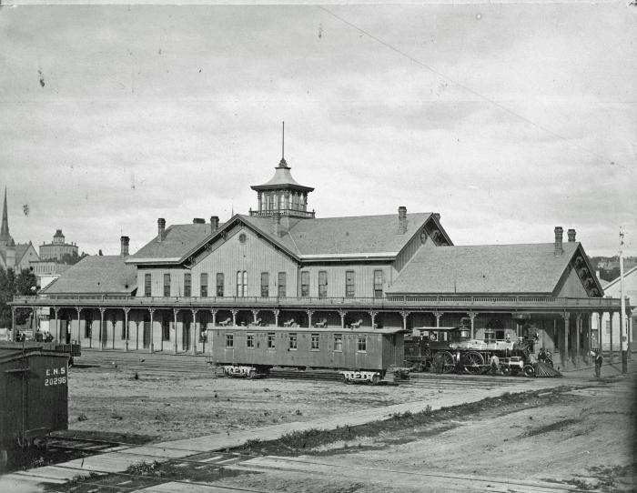 Grand Rapids & Indiana Railroad Depot
