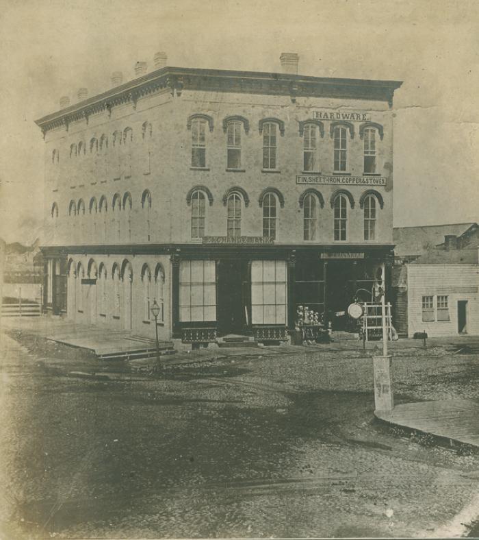 Ball Bank, 1865