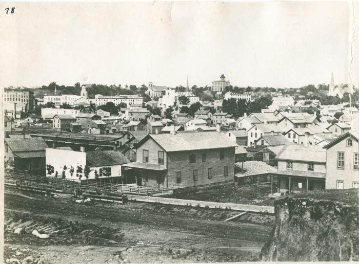 Grand Rapids view, 1870