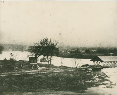 Pearl Street Bridge, 1865