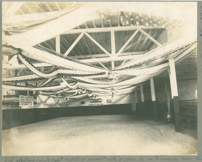 Old skating rink