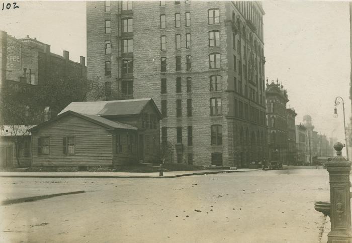 Perkins house, 1925
