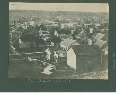 Grand Rapids view, 1875