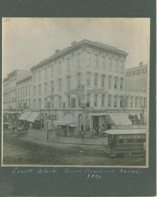 Lovett Building, 1870