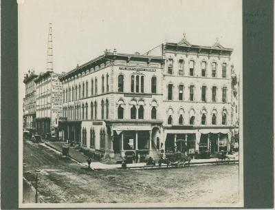 Wonderly Building, 1885