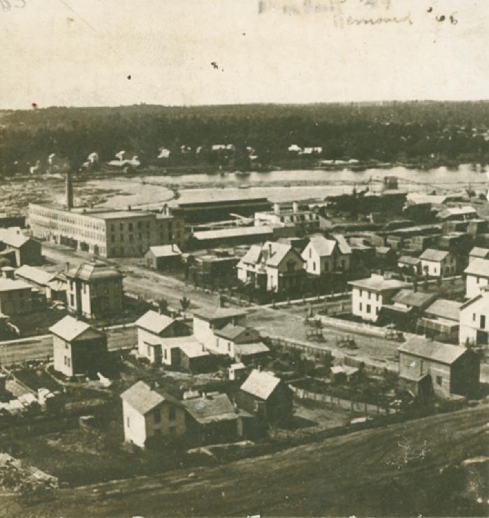 Grand Rapids view, 1865
