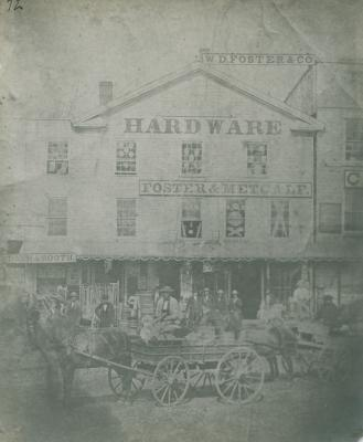 Fosters hardware, 1865