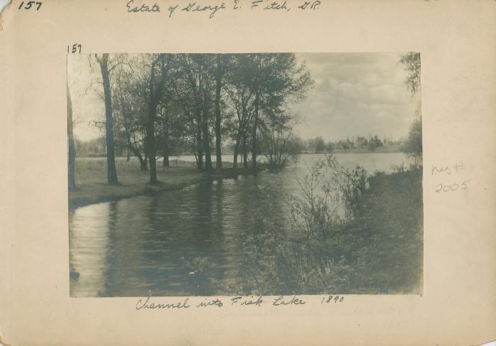 Fisk Lake view, 1890