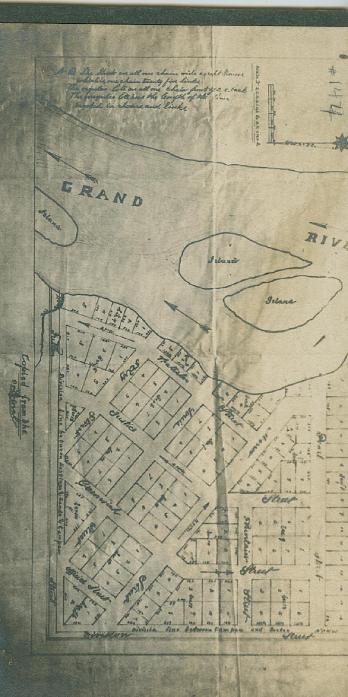 Map of Grand Rapids
