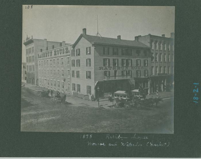Rathbun House (hotel), 1875